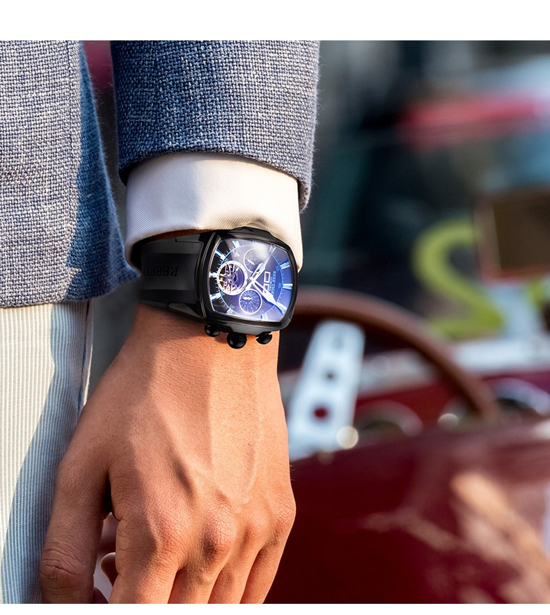 Reef Tiger/RT Top Brand Luxury Sport Big Watch For Men Mechanical Tourbillon Sport Watches Relogio Masculino RGA3069