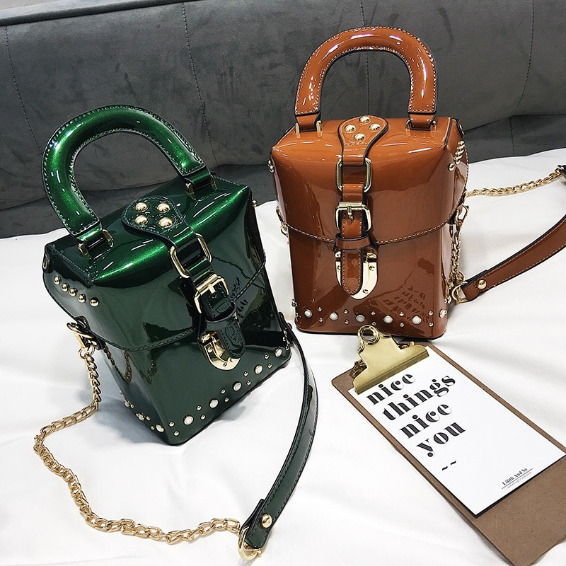 Diamond Box Handbags Mini Crossbody Bag For Women Messenger Bags