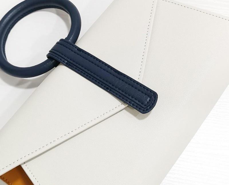 High Quality Leather Handbags Women Envelope Bag Fashion Design Elegant Tote Handbag Single Crossbody Bags Female Messenger Bag