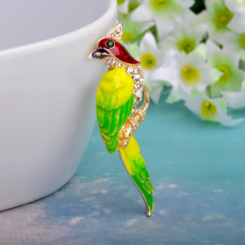 Double layer Colorful Enamel Butterfly Brooch Women Fashion Jewelry Nice Korean Design Hijab Accessory Cute Bags Jewelry Broches