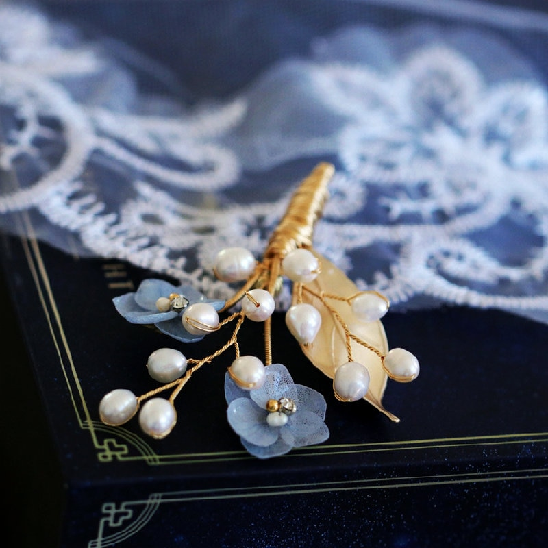 SINZRY trendy original natural pearl preserved flower sweety brooches pin fashion jewelry accessory for female