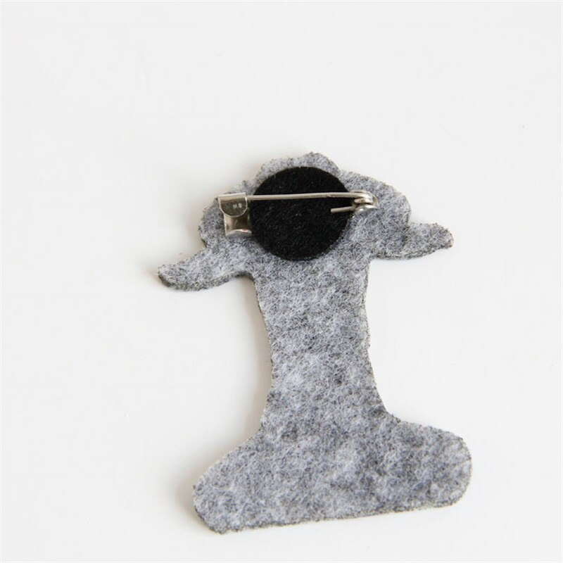 YiYaoFa Handmade Vintage Goat Pin & Brooches Antique Fabric Brooch Buckle Women Accessories Gift Lace Corsage BR-80