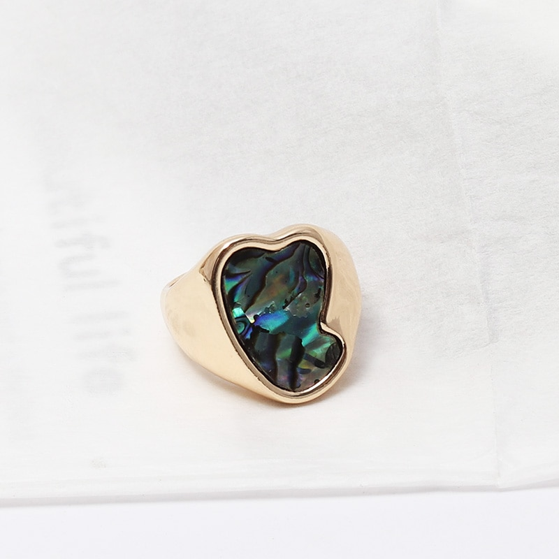 F.J4Z Fashion Vintage Finger Ring for Women Coin Eye Top Rings Female Rings Jewelry Girls Gifts anillos de mujeres Dropship
