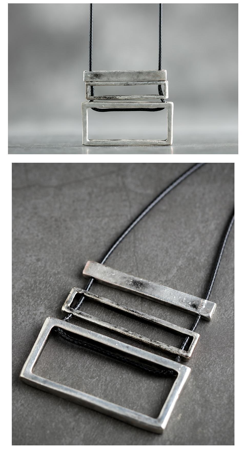 Women Jewelry Long Necklaces Vintage Rope Chain necklaces & pendants women collares mujer choker kolye bijoux femme