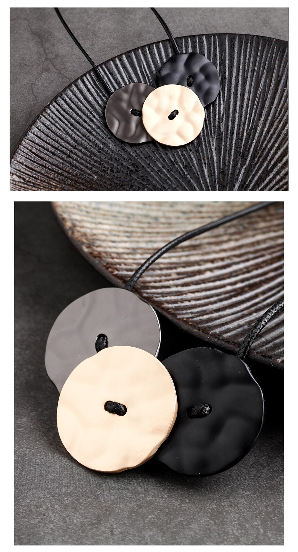 Trendy Jewelry for Women Long Necklace Rope Chain suspension jewellery collar necklaces & pendants Chokers 2020 New gift for Mum