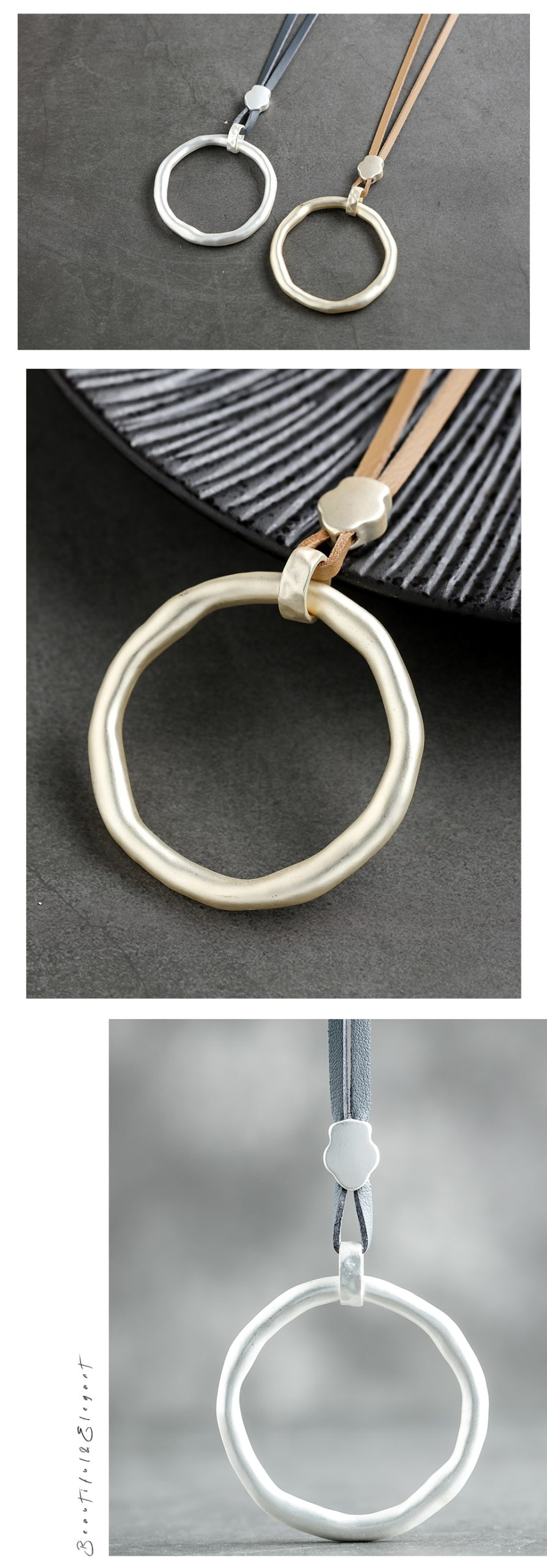 Leather Long Necklace Trendy Jewelry Women Chokers  necklaces & pendants Handmade Necklaces & Pendant Gifts suspension 2020 New