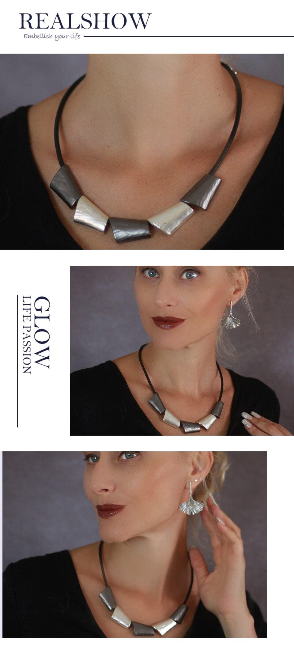 Adjustable Metal Necklaces Zinc Alloy Statement Necklace Choker Vintage Jewelry Pendant For Men Chain Collar Suspension Necklace