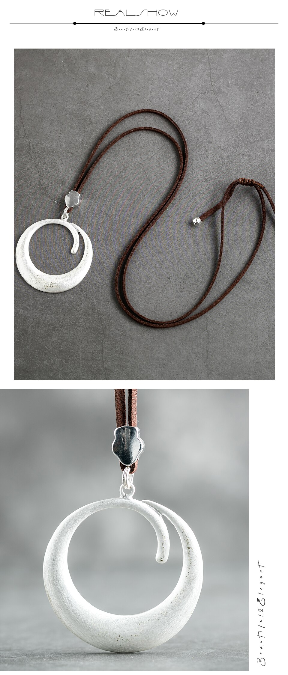 Vintage Jewelry for Women Long Necklace Chokers 2020 Hotsale Pendant Handmade Rope Chain Trendy Female Neck Decoration Fashion
