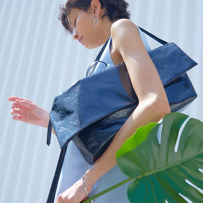 Grote Capaciteit Tote Tas Olie Lederen Handtas Grote Schoudertas Vrouwen Crossbody Tassen Voor Vrouwen 2020 Hoge Kwaliteit Torebki Damskie