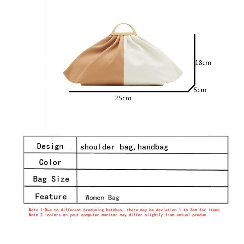 Ontwerp Dumplings Vrouwen Handtassen 2020 Nieuwe Mode Plooien Schouder Crossbody Tas Hanlde Vrouwen Wolken Tassen Dames Plisse Hand Tassen