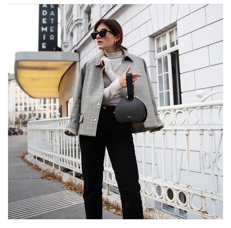 Fashion Casual Halve Cirkel Handtassen Vrouwen Ins Merken Clutch Bag Top-Handvat Pu Lederen Bakken Dames Vrouwen Portemonnees Ontwerp Chic