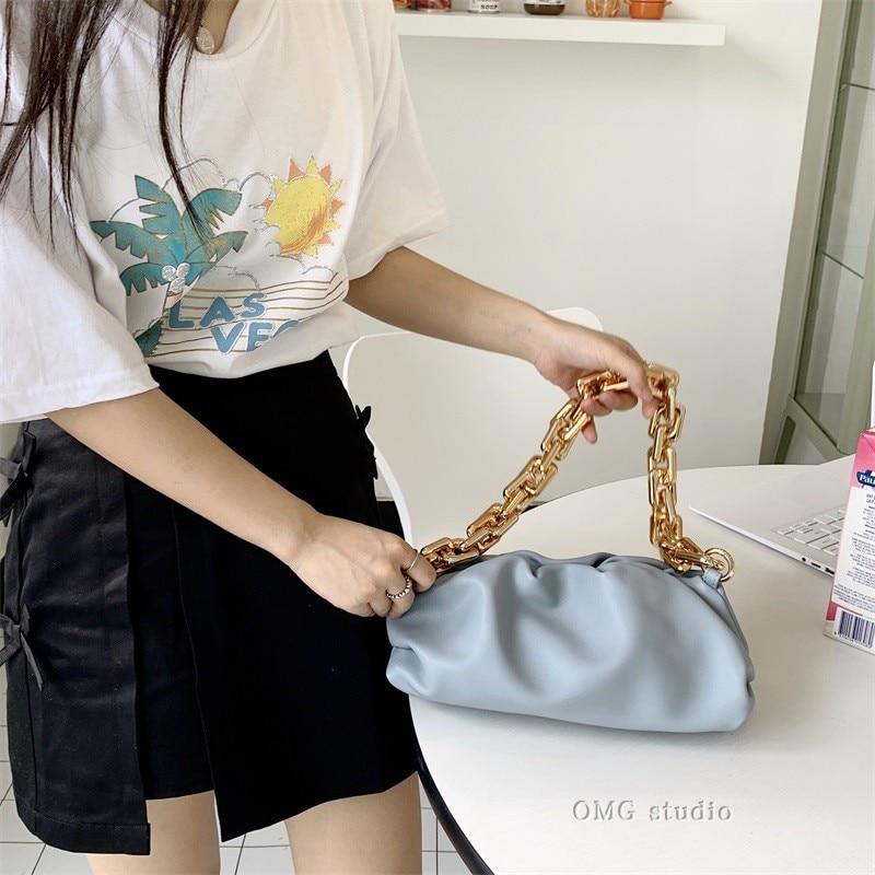Tas Voor Vrouwen Cloud Zak Zachte Lederen Hobos Bag Single Shoulder Purse Vrouwen Crossbody Tas Luxe Handtas En Portemonnee Dag koppelingen