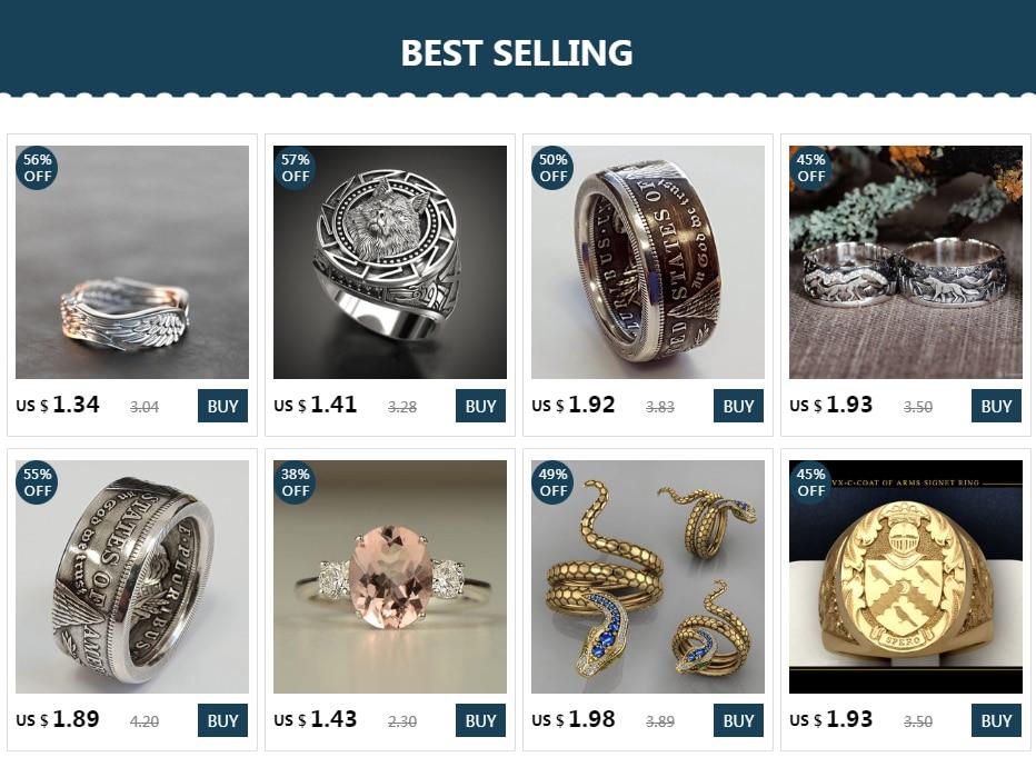 Vintage Zilveren Kleur Gletsjer Ring Nieuwe Witte Cz Steen Brede Ringen Voor Mannen Vrouwen Punk Gothic Sieraden Party Accessoires Cadeau h4M888