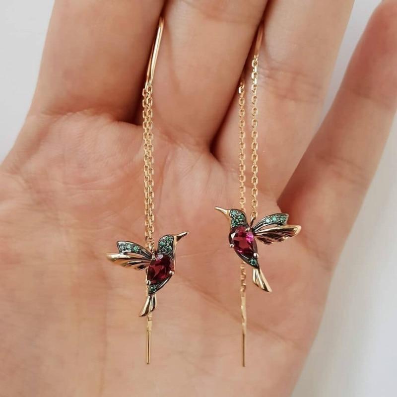 Chuhan Nieuwe Mode Mannen En Vrouwen Gekleurde Zirkoon Ring Geschikt Voor Banket Vakantie Verjaardag Sieraden Gift