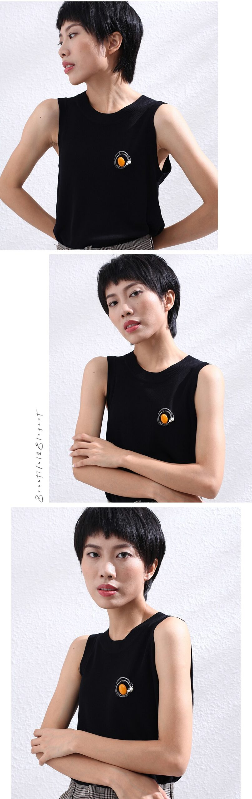 Vintage Sieraden Lange Ketting Voor Vrouwen Oranje Kleur Kralen Schorsing Hangers Touw Kettingen Choker Sieraden 2020 Hotsale