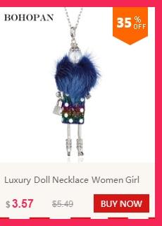 Hot Koop Zwarte Hoed Doll Kettingen Silver Wing Sequin Streep Jurk Legering Ketting Vrouwen Beste Vrienden Hanger Doek Accessoires