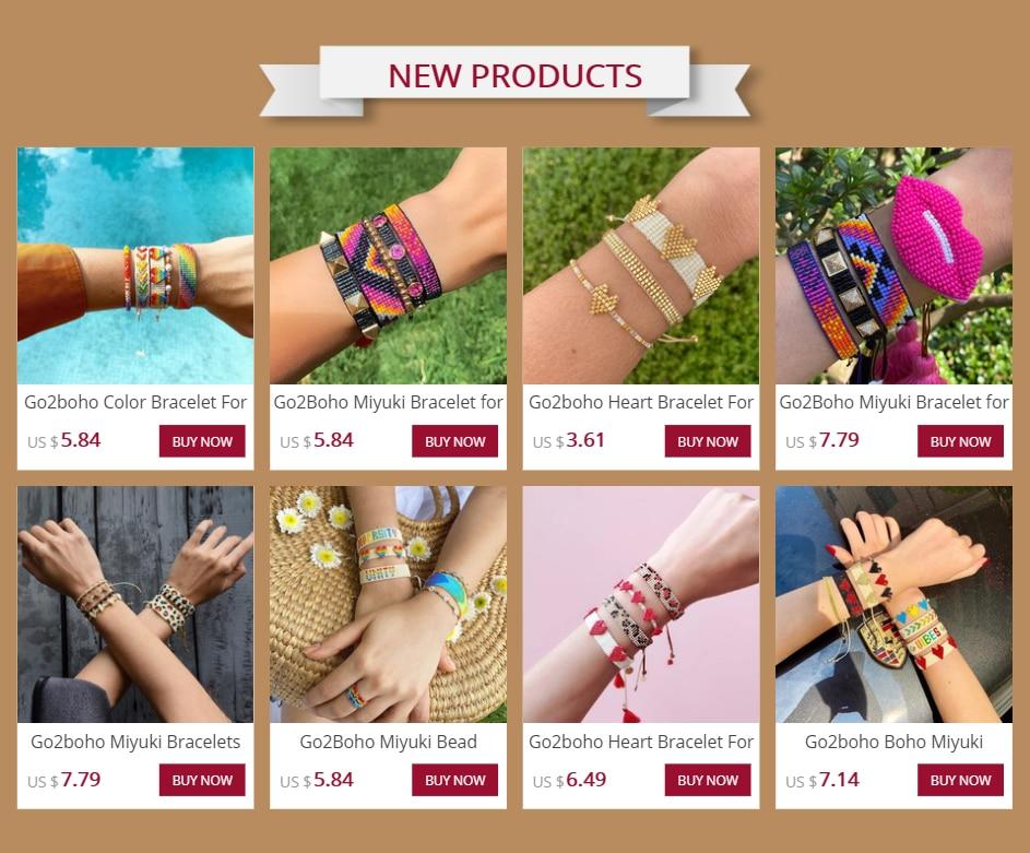 Go2boho Oorbellen Fashion Sieraden 2020 Boho Miyuki Tila Kralen Lange Drop Earring Bijoux Femme Bohemian Handgemaakte Haak Link Sieraden