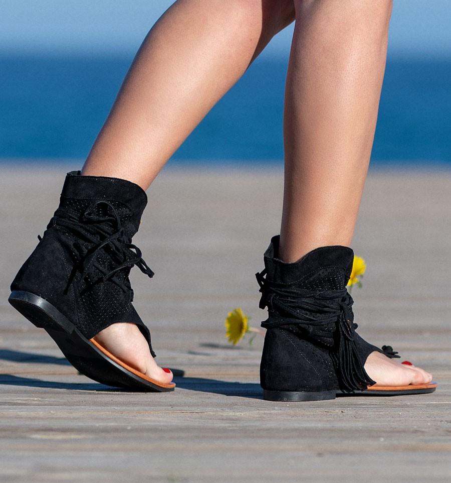 Vrouwen Retro Sandalen Gladiator Dames Clip Teen Vintage Laarzen Toevallige Kwastje Rome Mode Zomer Vrouw Schoenen Vrouwelijke 2020 Nieuwe