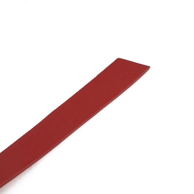 2020 Nieuwe Brede Leren Corset Riem Vrouwelijke Tie Obi Dunne Rood Zwart Boog Leisure Riemen Voor Dame Trouwjurk Tailleband vrouwen Riemen