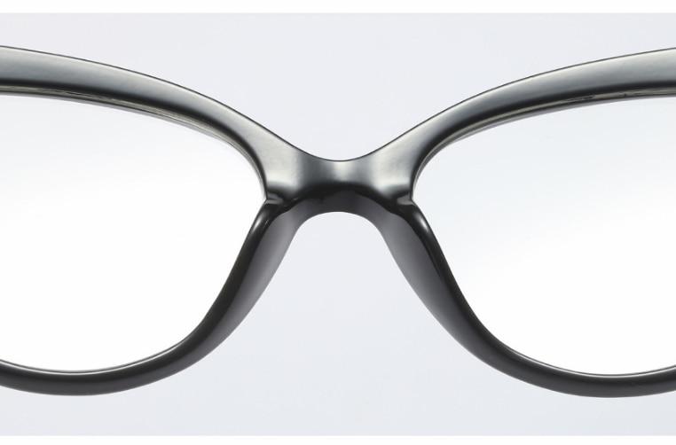 45639 Cat Eye Brilmonturen Vrouwen Trending Stijlen Merk Brillen TR90 Optische Mode Computer Bril