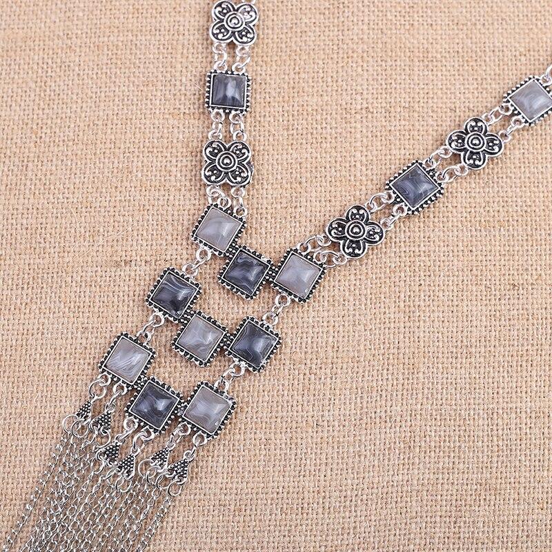 Top Fashion lange Kettingen Sieraden hoge kwaliteit hals lange tassel ketting trendy verklaring kettingen voor vrouwen sieraden groothandel