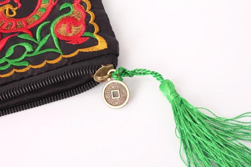 Vrouwen Etnische Nationale Retro Vlinder Bloem Tassen Handtas Portemonnee Geborduurde Dame Clutch Kwastje Kleine Flap Zomer Bolsa Koop