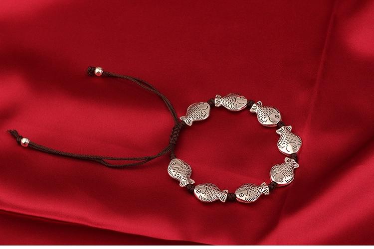 Mywiny Nieuwe 4 Ontwerp Vintage Vis Armband, Etnische Handgemaakte Originele Unieke Armband Voor Vrouwen Gift